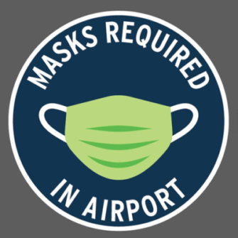Bring your facemask to the King Island Airport