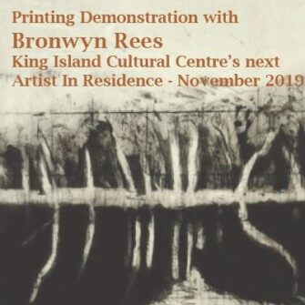 Printing Demonstration with Bronwyn Rees