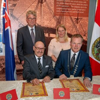 Cultural bond forged between Cork & King Island