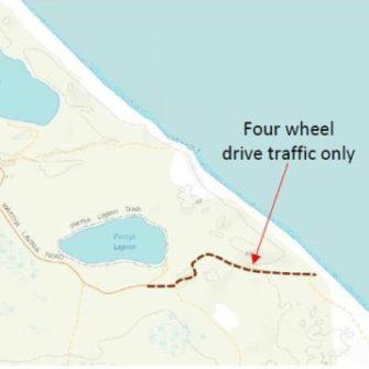 Access to Martha Lavinia Beach