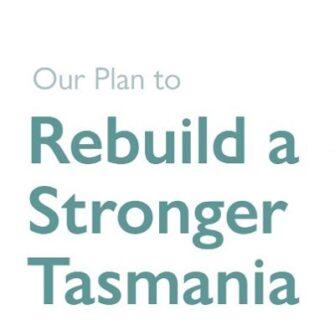 Tasmania's Roadmap to Recovery